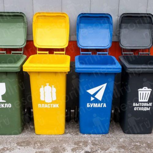 Шкловское УКП «Жилкомхоз» напоминает о необходимости раздельного сбора мусора