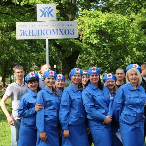 Санитарная дружина Шкловского УКП «Жилкомхоз» отмечена на районных соревнованиях