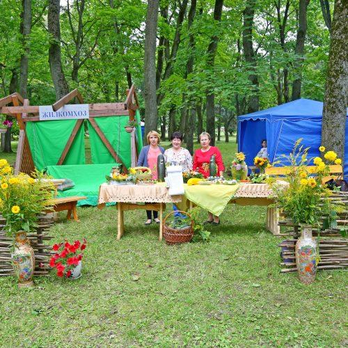 Шклоўскае УКП «Жылкамгас» прыняло ўдзел у святкаванні Дня агурка