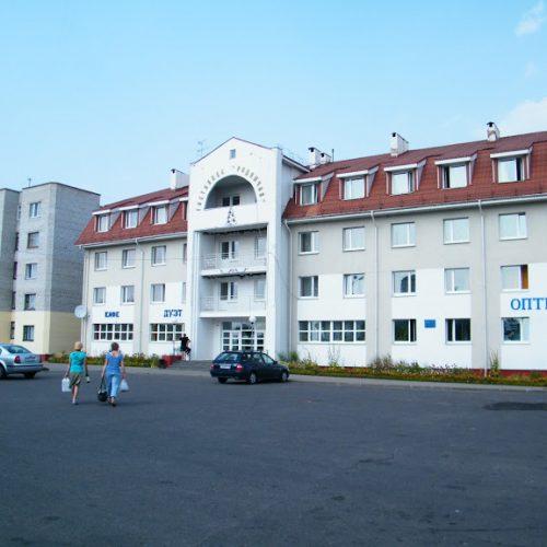 Туристические объекты Шкловщины: гостиница «Родничок»
