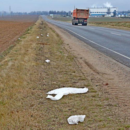 Мусор чей? «Районка» пыталась выяснить, откуда на обочинах дорог появляется мусор, но все оказалось не так просто