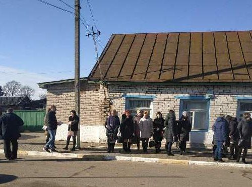 В рамках Единого дня безопасности в Шкловском УКП «Жилкомхоз» прошла учебная эвакуация
