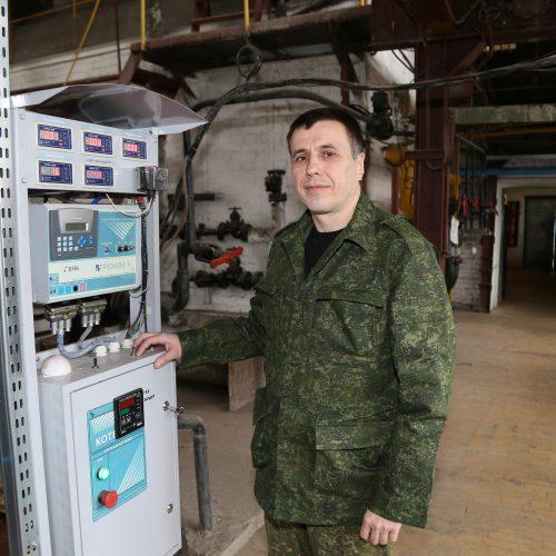 Слесарь Шкловского жилкомхоза рассказал о своей работе